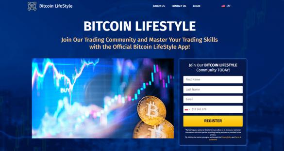 Bitcoin Lifestyle App