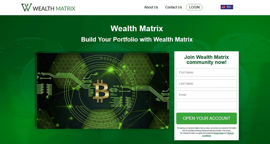 Es ist kein Betrug, Wealth Matrix Bewertungen! Informieren Sie sich über die Registrierung und Einloggen-Vorgänge!