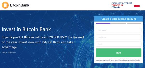 crea un sito di trading di bitcoin