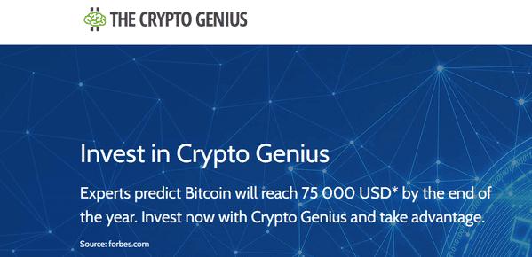 the crypto genius forum kas yra forex dinary parinktis